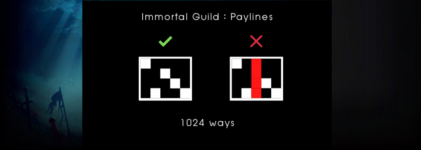 Immortal Guild - payline